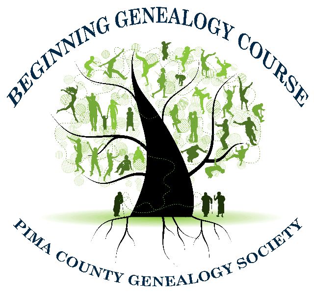 Beginning Genealogy Course Part 1 - PRE-REGISTERED MEMBERS ONLY