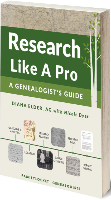 Research Like a Pro: A Genealogist's Guide - Pick Up Only