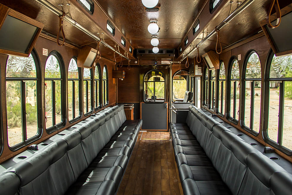 Trolley Ride to and from Train Museum